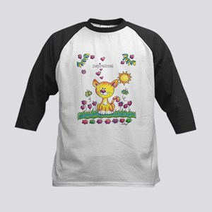 Smileys - Yellow Cat Baseball Jersey