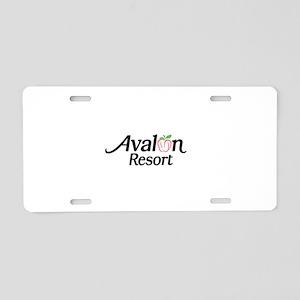 Avalon Resort Aluminum License Plate