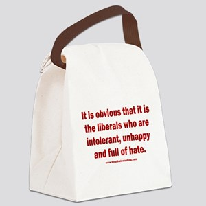 It is obvious Canvas Lunch Bag
