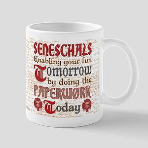 Funny SCA Seneschal Paperwork Mugs