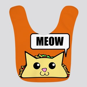 Taco Cat Meow OBG Polyester Baby Bib