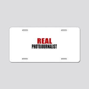 Real Photojournalist Aluminum License Plate