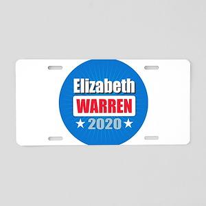Elizabeth Warren 2020 Aluminum License Plate