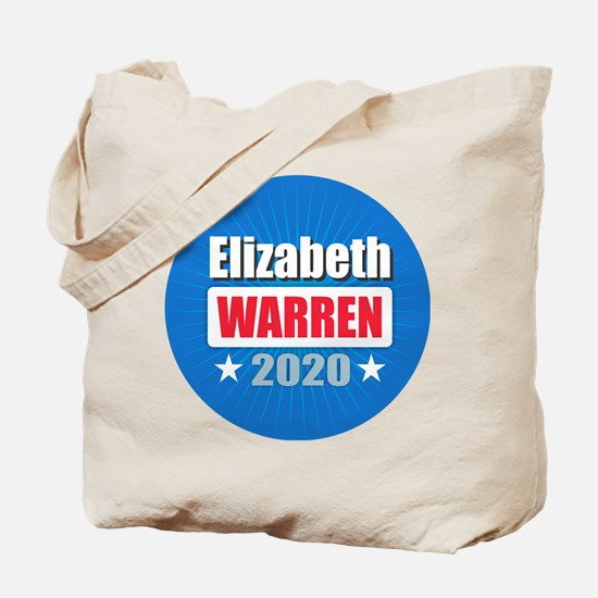 Elizabeth Warren 2020 Tote Bag