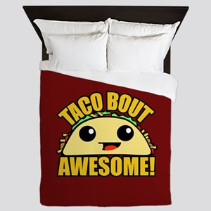 Taco Bout Awesome CB Queen Duvet