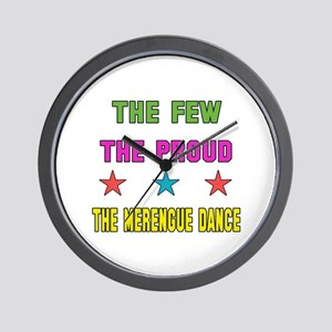 The Few, The Proud, The Merengue Dance Wall Clock