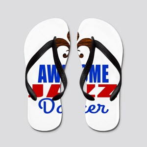 Awesome Flamenco Dancer Flip Flops