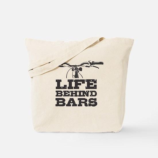 Cute Behind bar Tote Bag