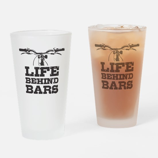 Unique Life spent behind bars Drinking Glass