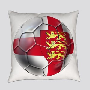 English 3 Lions Football Everyday Pillow