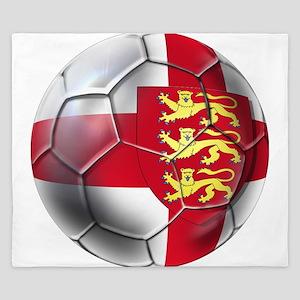 English 3 Lions Football King Duvet