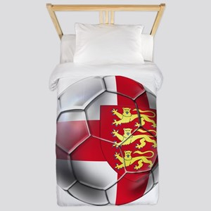 English 3 Lions Football Twin Duvet