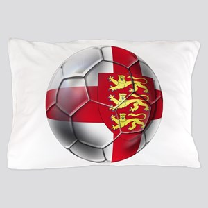 English 3 Lions Football Pillow Case