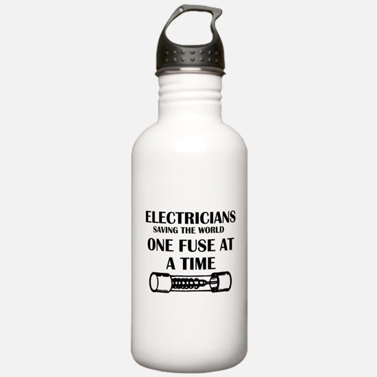 electricians saving th Water Bottle