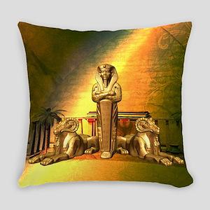 Anubis, the egyptian god Everyday Pillow