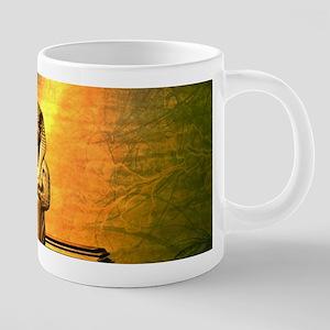 Anubis, the egyptian god Mugs