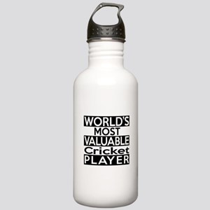 Most Valuable Cricket Stainless Water Bottle 1.0L