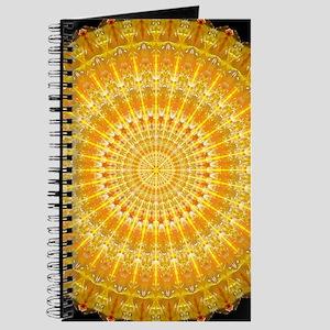 Golden Disc of Secrets Mandala Journal