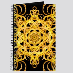 Golden broach Mandala Journal