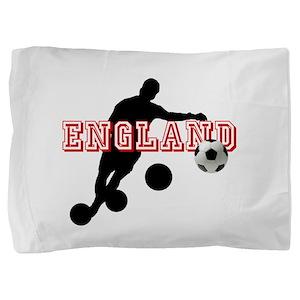 English Football Player Pillow Sham