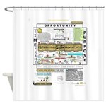 The Map Of Success Shower Curtain
