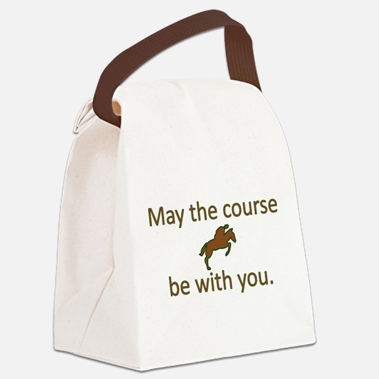 May the course be with you - EQUE Canvas Lunch Bag