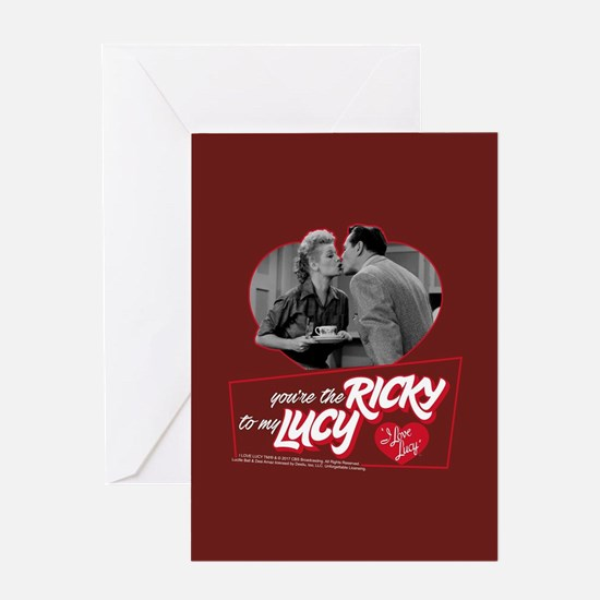 I Love Lucy: Ricky To My Lucy Greeting Card