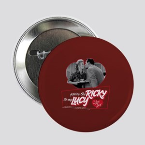 """I Love Lucy: Ricky To My Lucy 2.25"""" Button"""