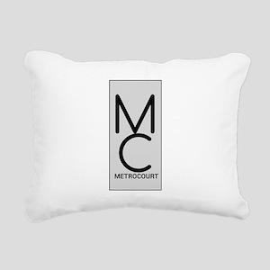 General Hosp Metro Court Rectangular Canvas Pillow
