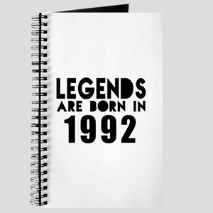 Legends Are Born In 1992 Journal