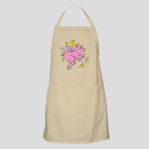 Pink Flying Pig #2 Apron