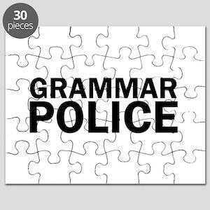 Grammar Police Funny Cute Puzzle