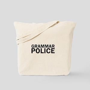 Grammar Police Funny Cute Tote Bag
