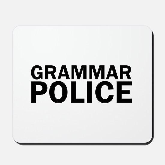 Grammar Police Funny Cute Mousepad