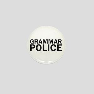 Grammar Police Funny Cute Mini Button