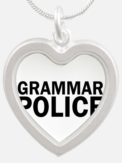 Grammar Police Funny Cute Necklaces