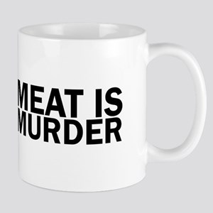 Meat Is Murder Vegetarian Vegan Bold Mugs