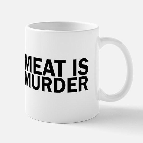 Meat Is Murder Vegetarian Vegan Bold Mugs