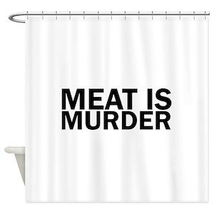 Murder Shower Curtains