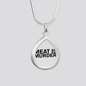Meat Is Murder Vegetarian Vegan Bold Necklaces
