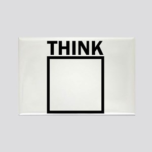Think Outside The Box Funny UNique Magnets