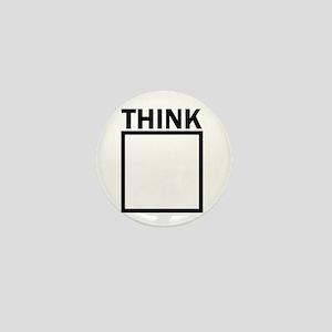 Think Outside The Box Funny UNique Mini Button