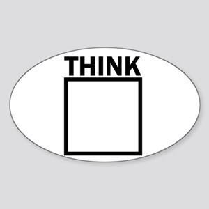 Think Outside The Box Funny UNique Sticker
