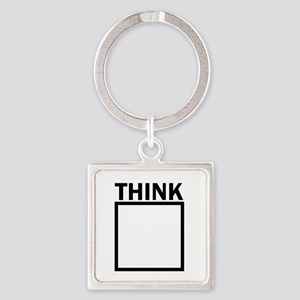 Think Outside The Box Funny UNique Keychains