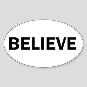 Believe Inspiration Motivation Bold Capita Sticker