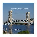 Houghton - Hancock Bridge Tile Coaster