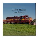 Duluth Mesabi Iron Range Locomotive Tile Coaster