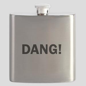Dang Funny Cute Flask