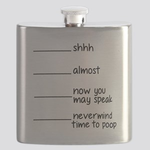 Time to poop Flask