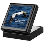 American Great White Pelican Keepsake Box